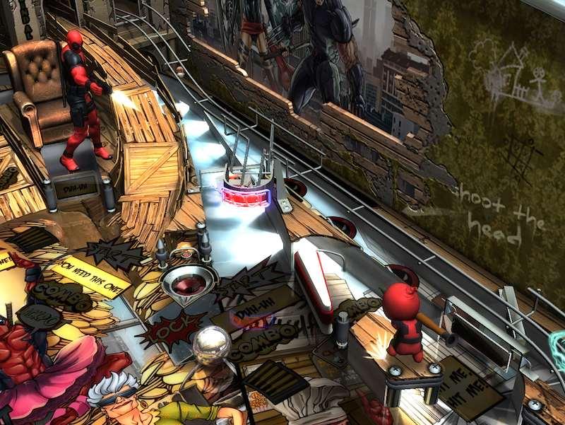Zen Studios Deadpool table 02