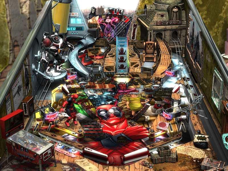 Zen Studios Deadpool table 03