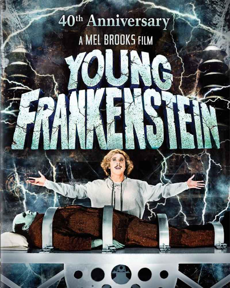 Young Frankenstein 40th Anniversary cover