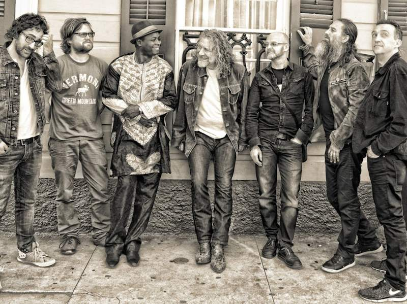 Robert Plant lullaby And…The Ceaseless Roar band