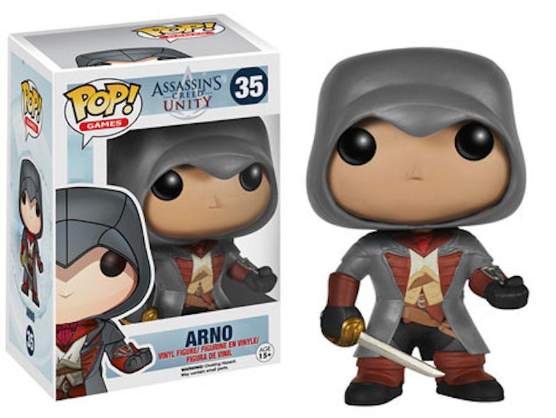 Funko World Of Warcraft LittleBigPlanet Assassins Creed Unity 35 Arno