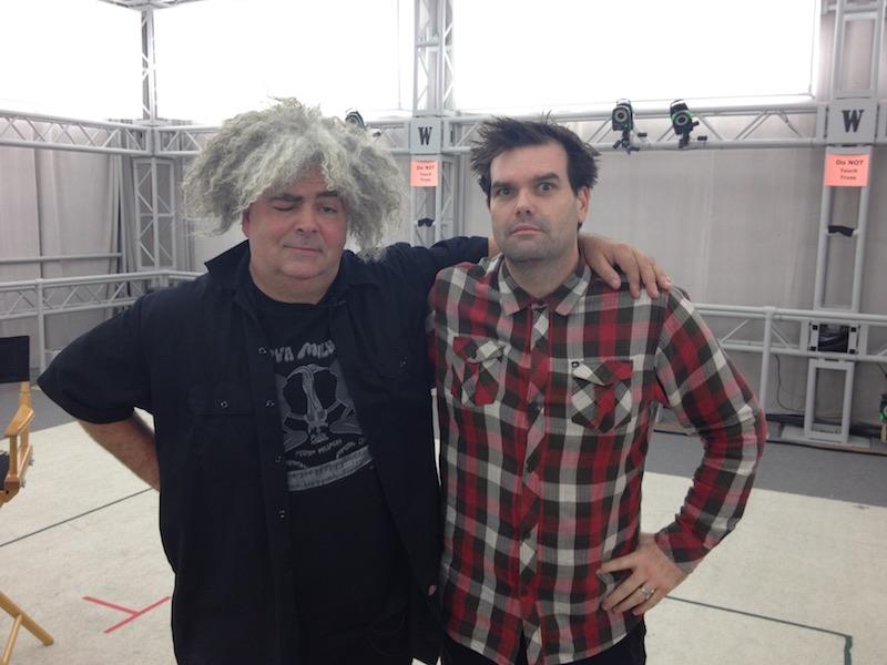 Buzz Osborne The Melvins Sunset Overdrive creative director Marcus Smith
