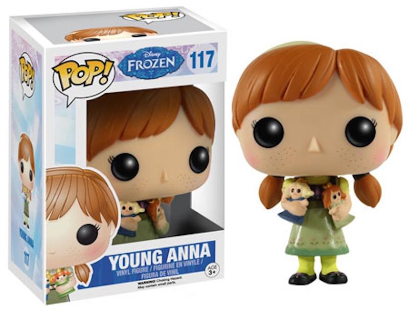 Funko Frozen 117 Young Anna