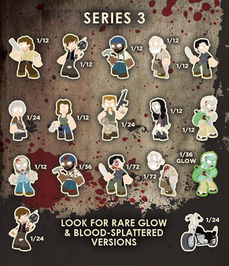 Funko Series 3 The Walking Dead Mystery Minis 03