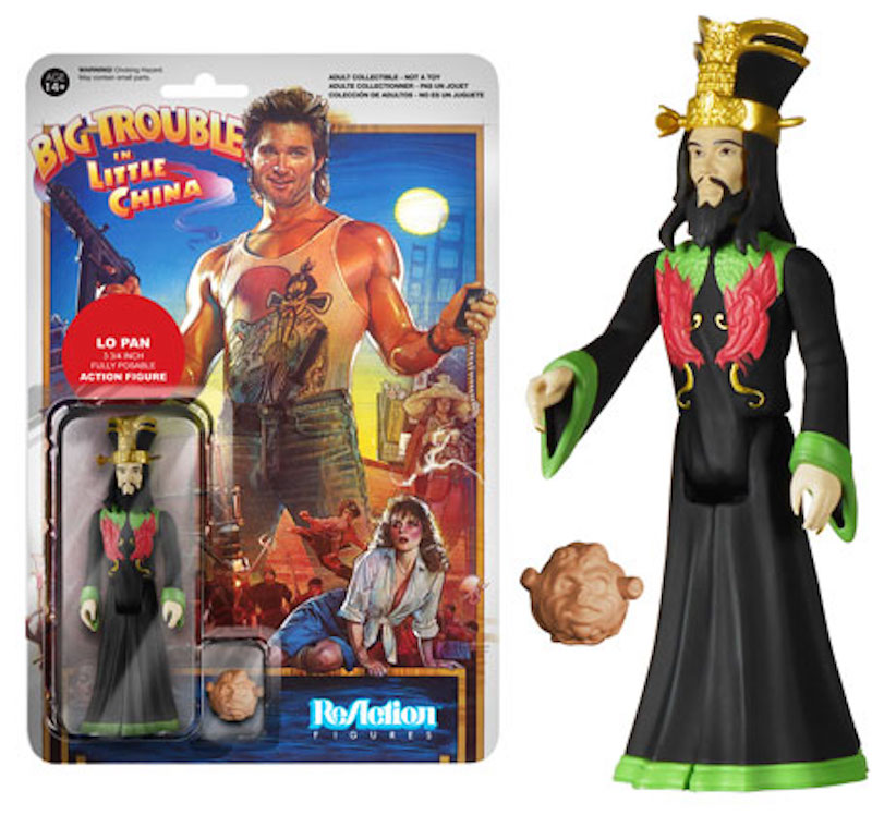Funko ReAction Big Trouble In Little China Lo Pan