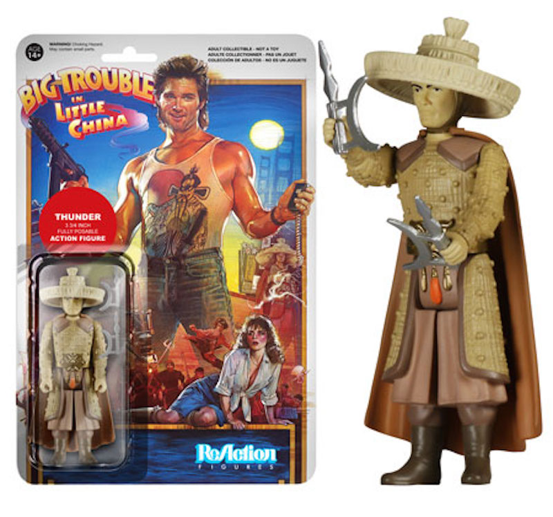 Funko ReAction Big Trouble In Little China Thunder