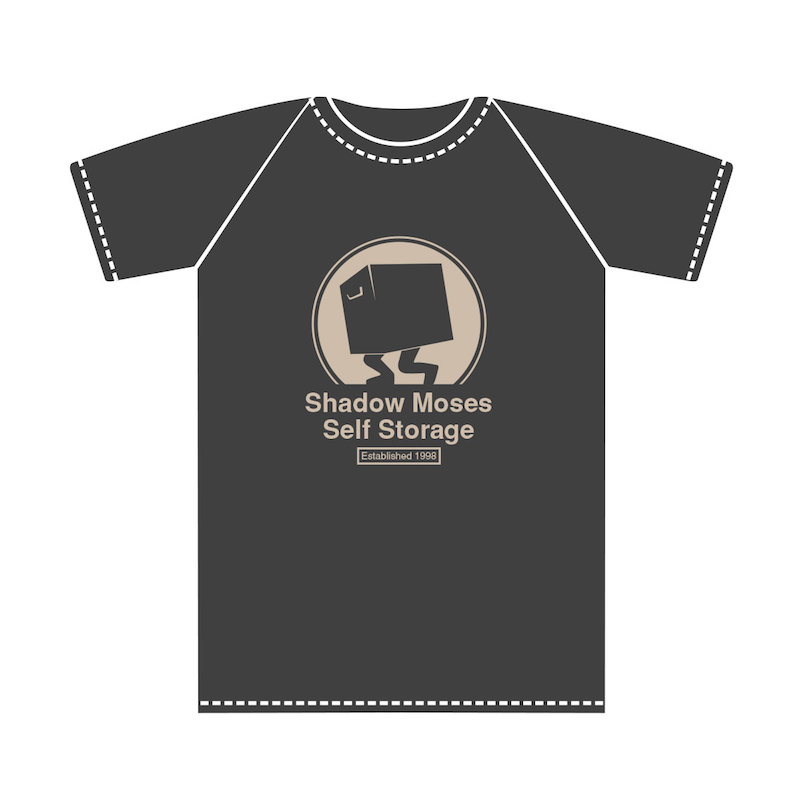 Insert Coin Metal Gear Solid Shadow Moses self storage tee