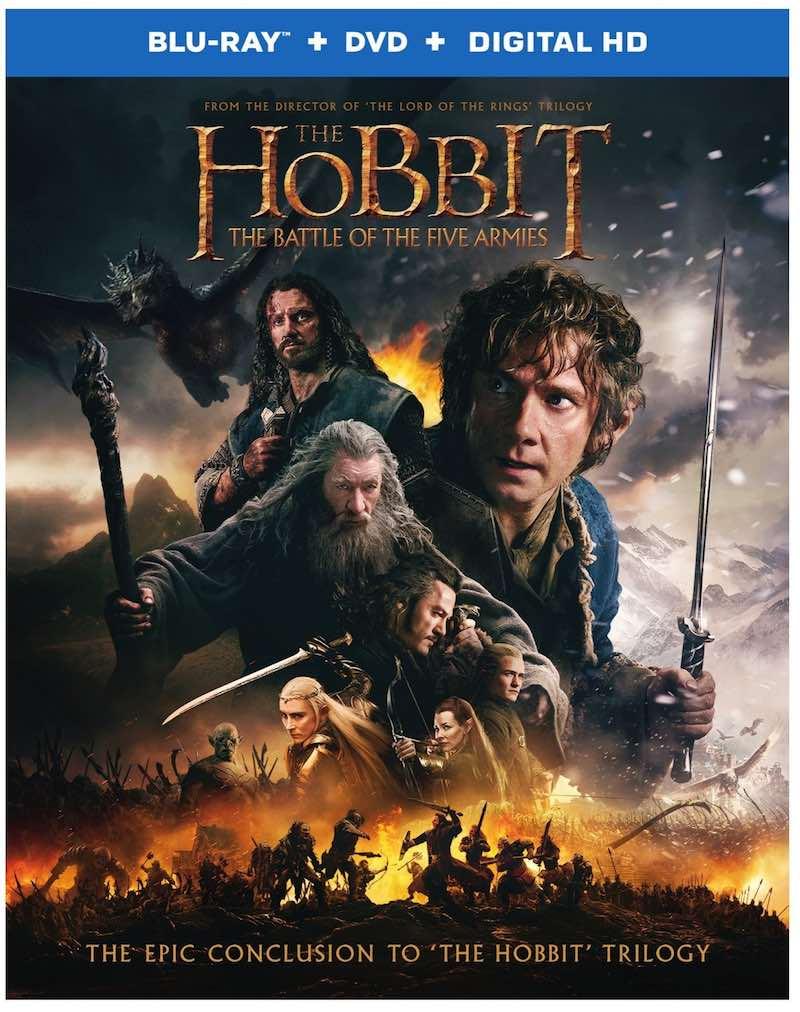 The Hobbit The Battle Of The Five Armis cover