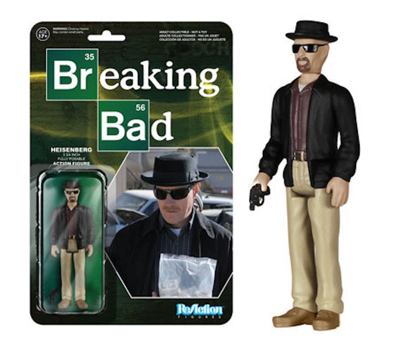 Funko Breaking ReAction Bad Heisenberg
