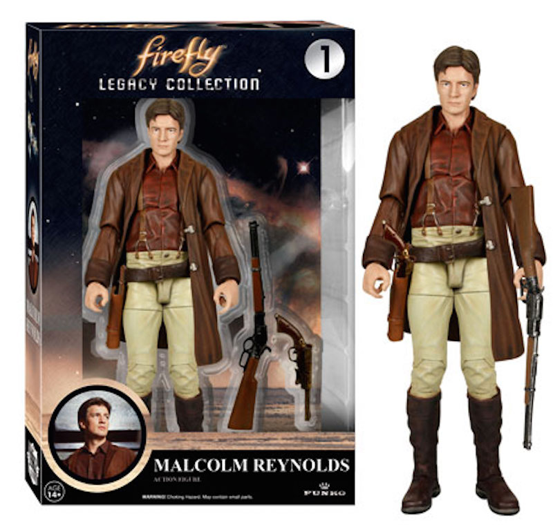 Funko Firefly Legacy Collection 1 Malcolm Reynolds