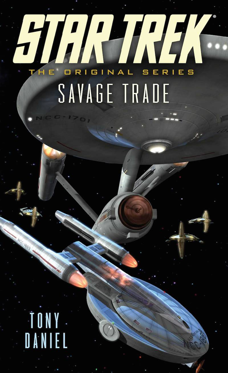 Star Trek The Original Series Savage Trade Tony Daniel cover