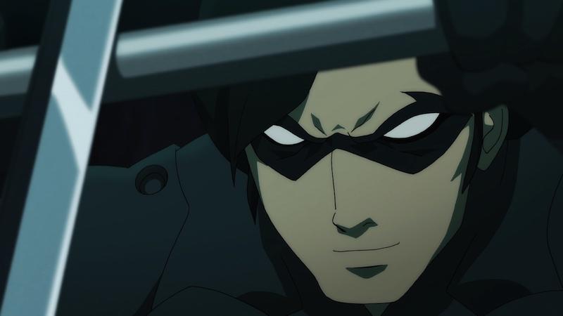 Batman Vs Robin Nightwing