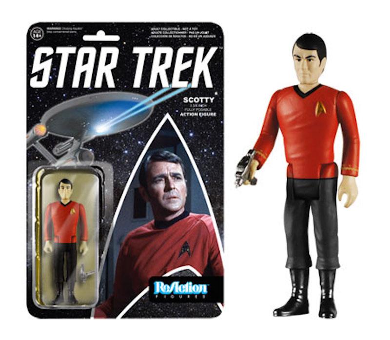 Funko Star Trek Series 2 ReAction Scotty