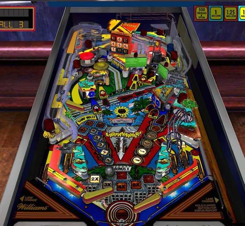 Pinball Arcade Season Four Earthshaker