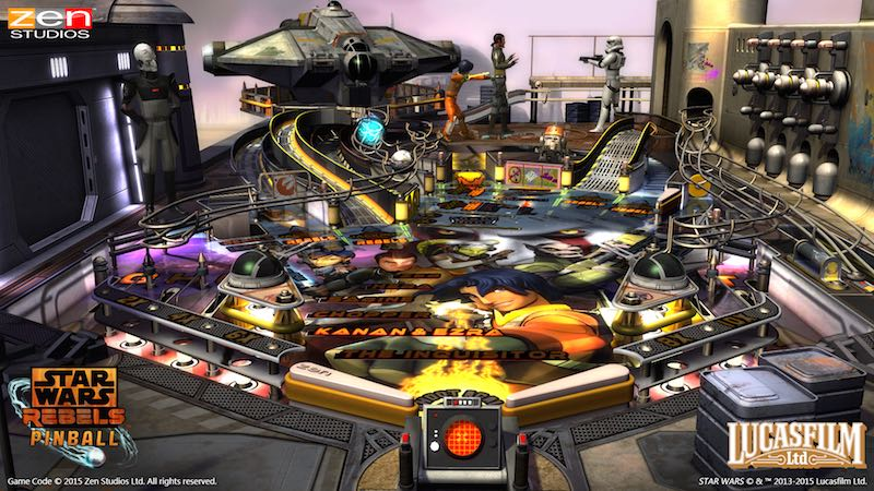 Star Wars Rebels Zen Pinball 2 Pinball FX 2 02