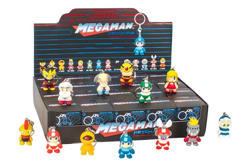 Kidrobot Megaman keychain