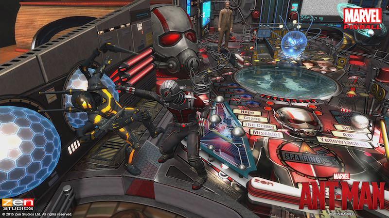 Zen Pinball 2 Pinball FX 2 Ant-Man 03