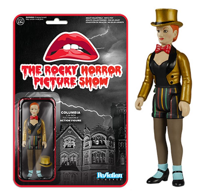 Funko ReAction The Rocky Horror Picture Show Columbia