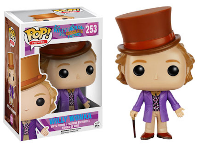 Funko POP Willy Wonka And The Chocolate Factory 253 Willy