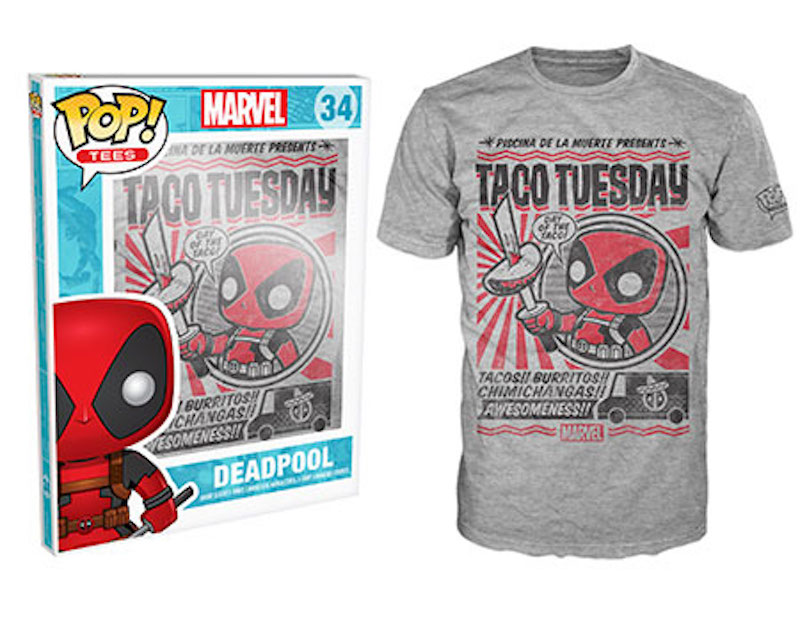 Funko Shirt Marvel Star Wars Deadpool