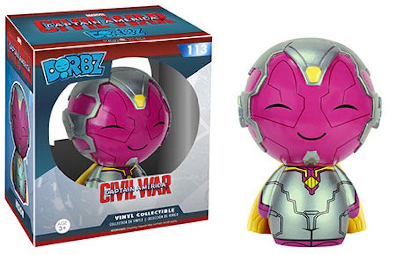 Funko Dorbz Marvel Captain America Civil War 113 Vision