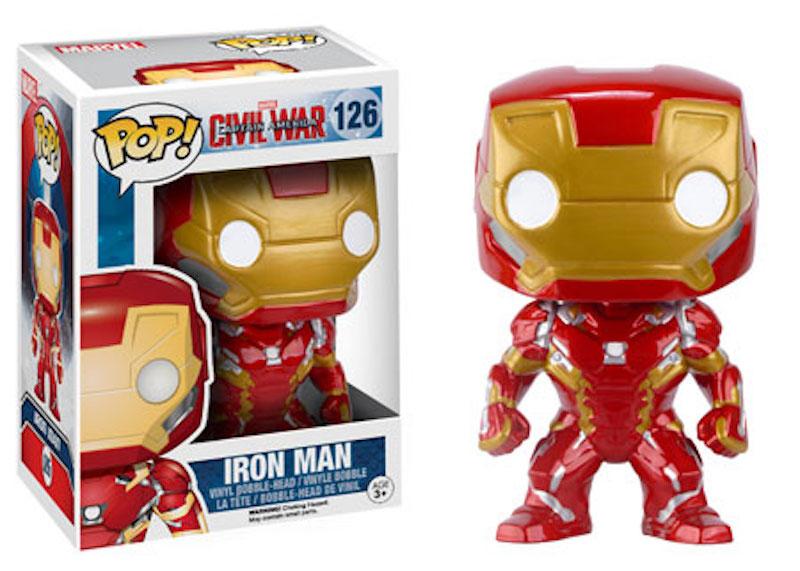 Funko POP! Marvel Captain America Civil War 126 Iron Man