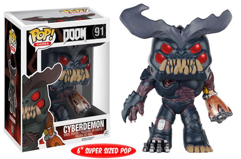 Funko POP! Bethesda Doom 91 Cyberdemon