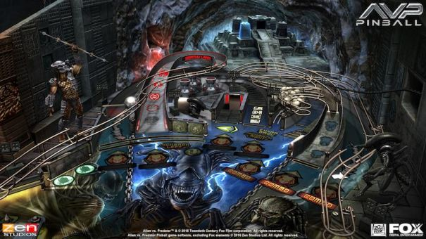 AVP table Alien Vs Pinball Zen Pinball 2 Pinball FX 2