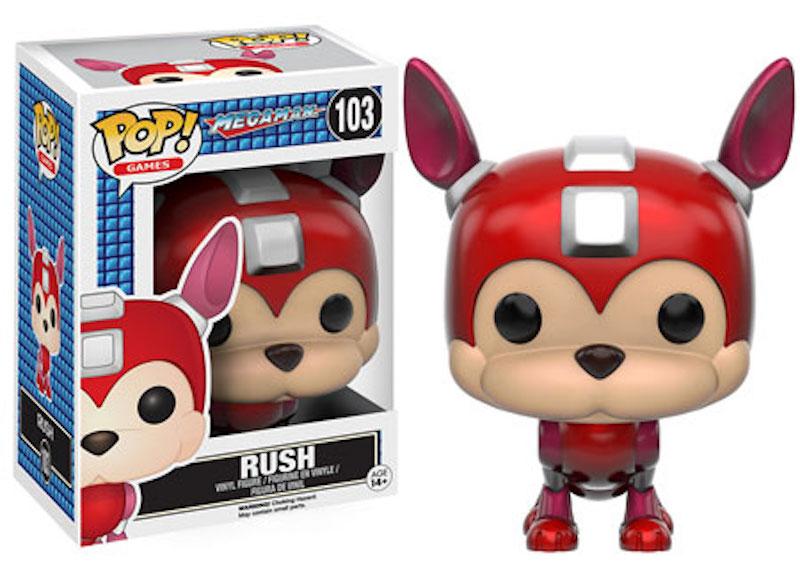 Funko POP! Mega Man 103 Rush