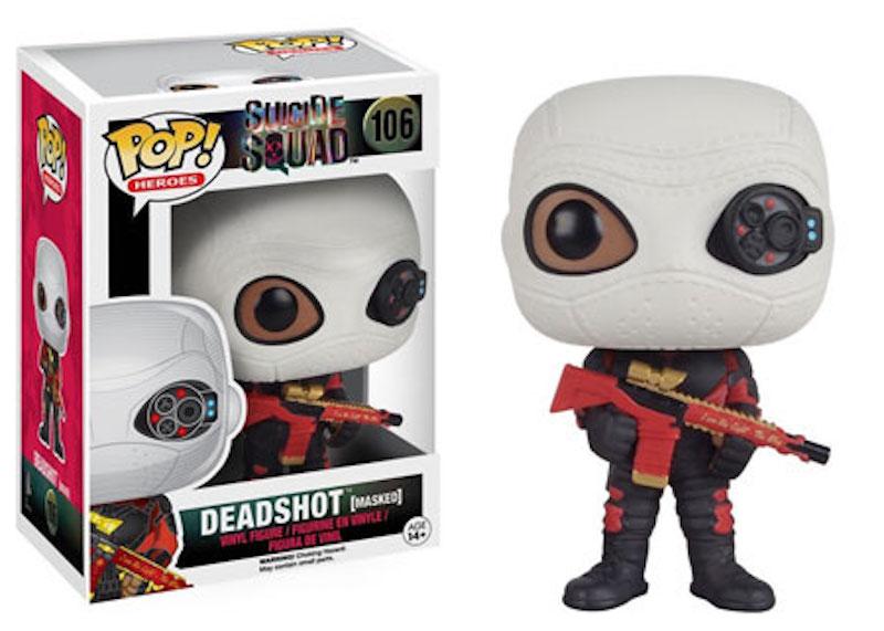 Funko POP! Suicide Squad 106 Deadshot (masked)