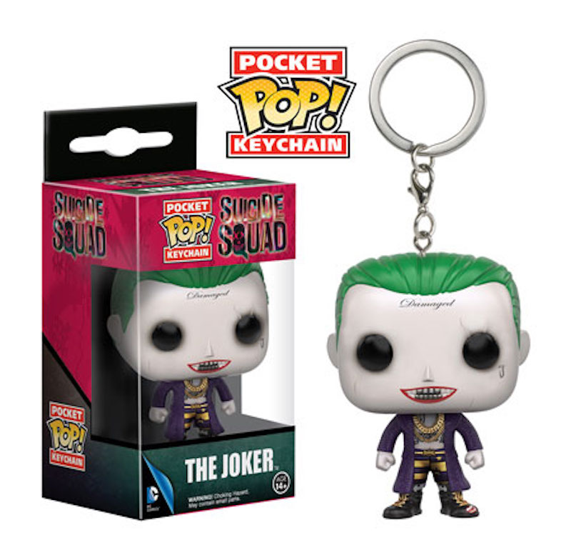 Funko POP! keychain Suicide Squad The Joker