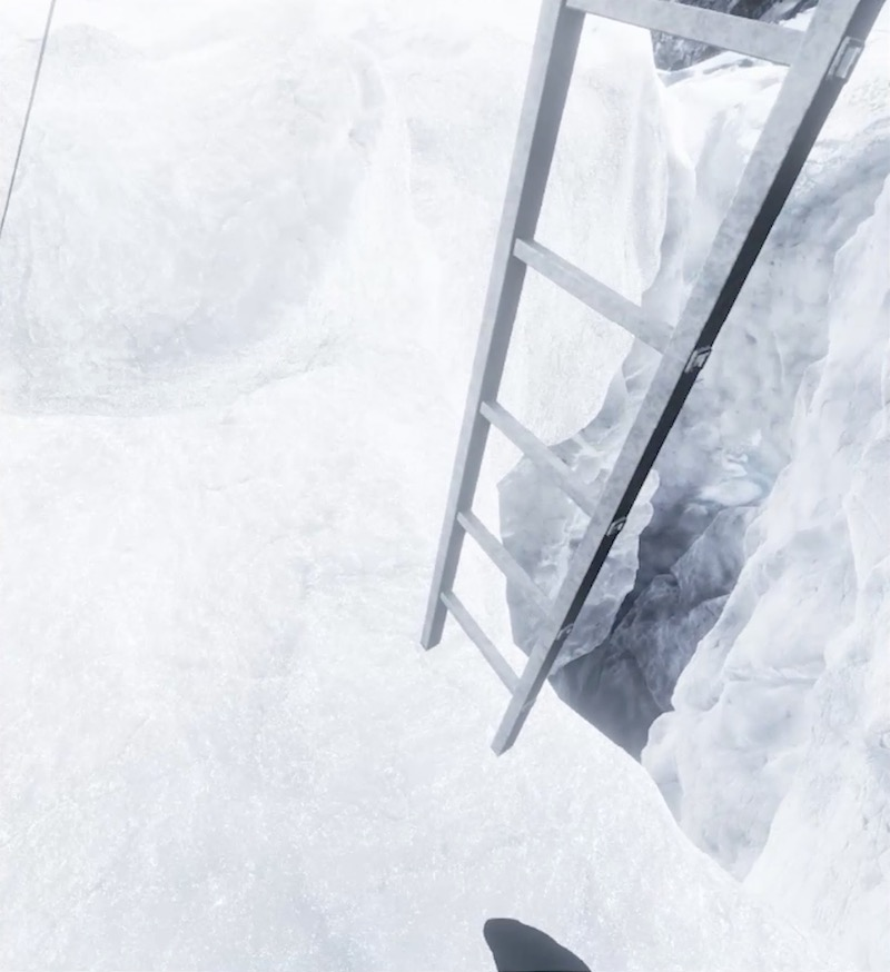 Everest VR ladder