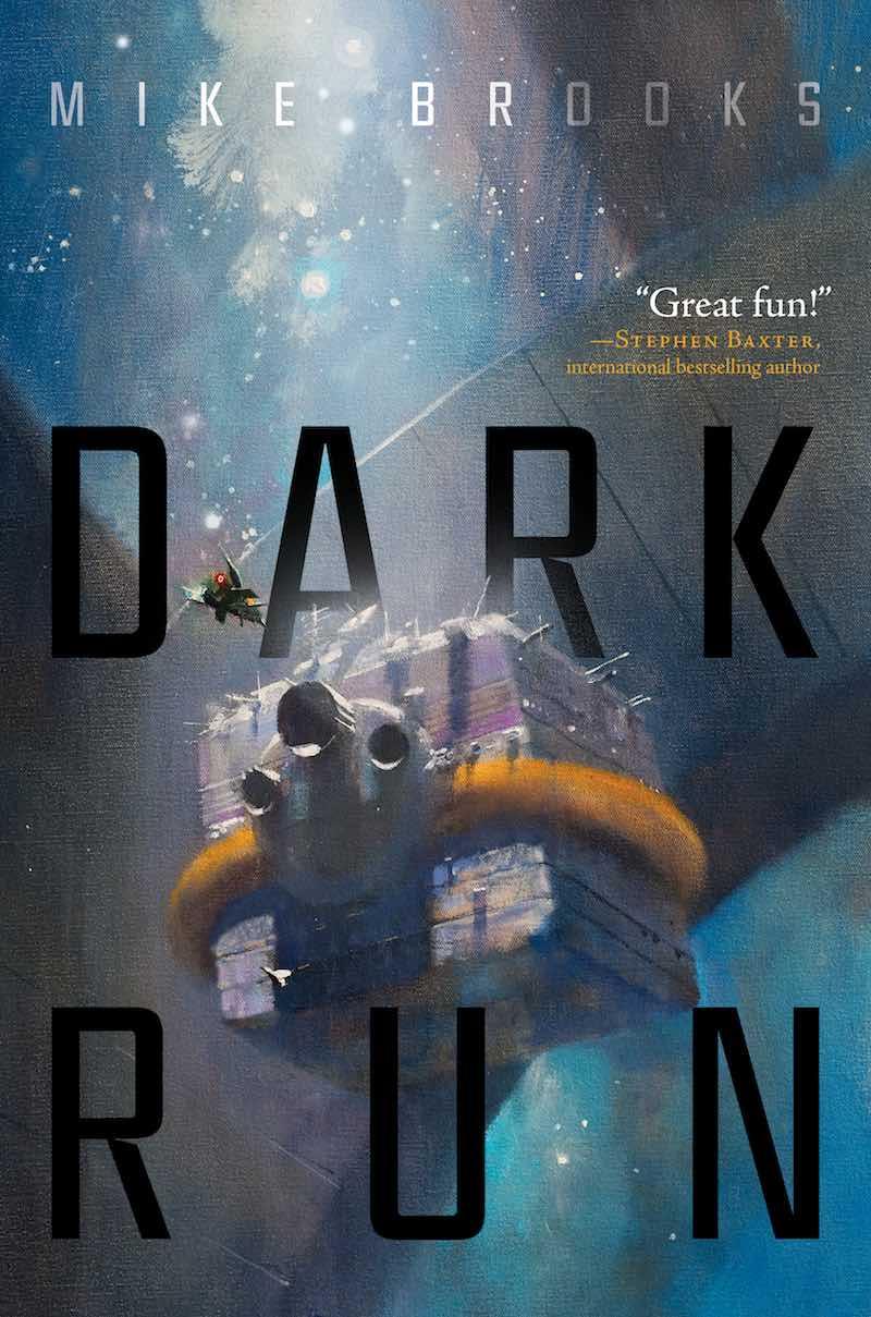 Mike Brooks Dark Run cover