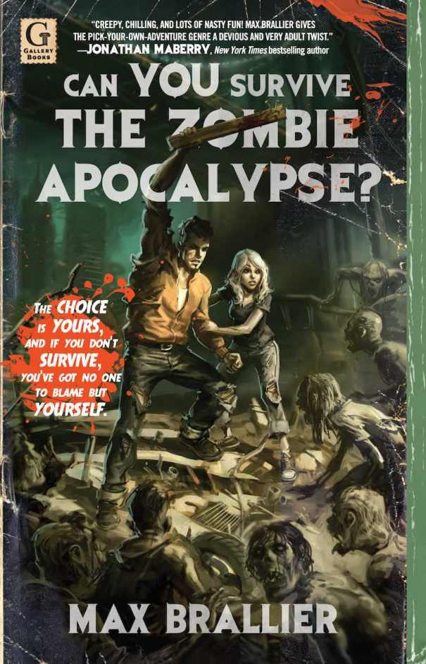 Max Brallier Highway To Hell Can YOU Survive The Zombie Apocalypse cover 2