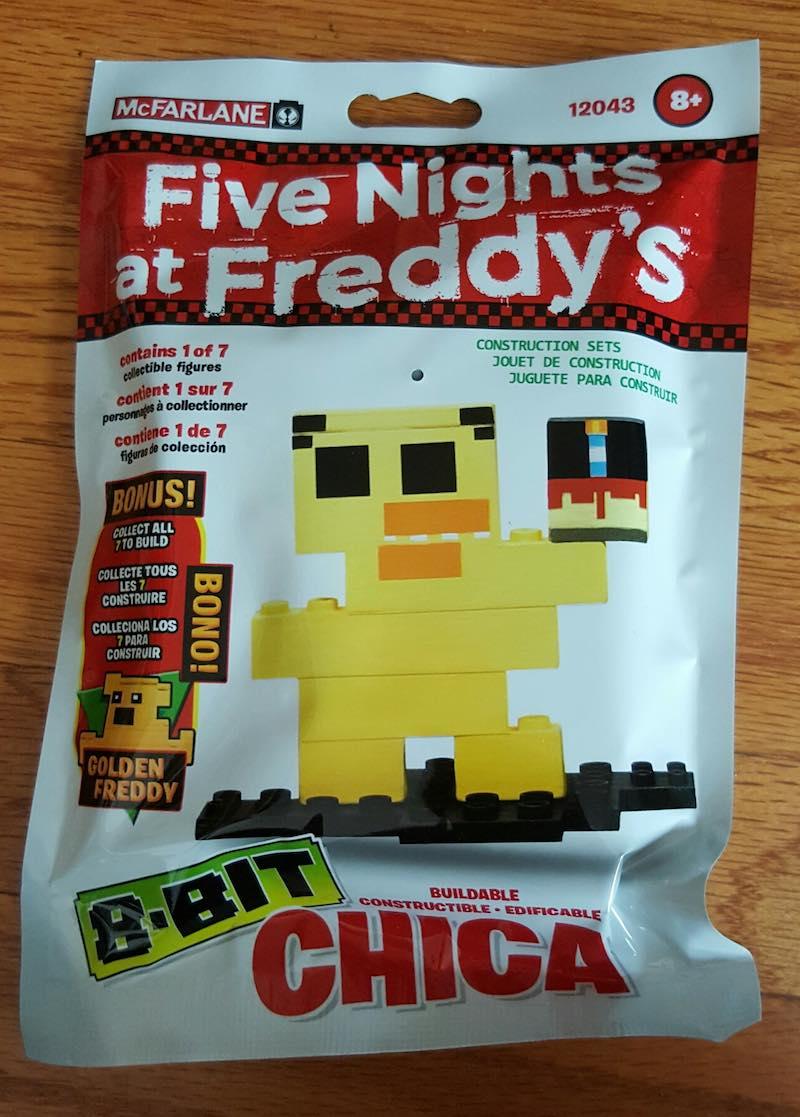 McFarlane Five Nights At Freddy's Construction Set 8-Bit Chica