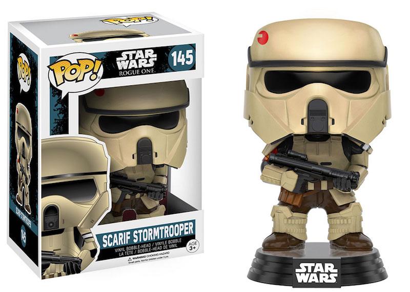 Funko Rogue One A Star Wars Story POP 145 Scarif Stormtrooper