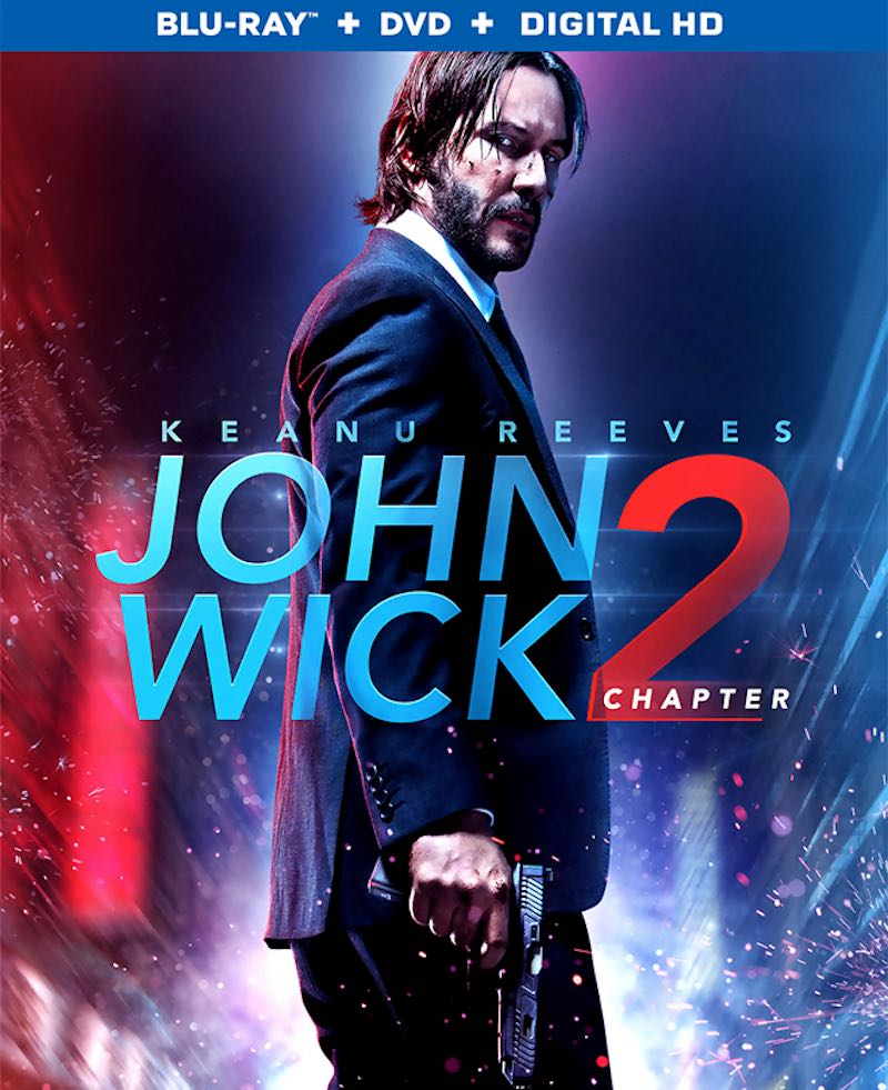 John Wick Chapter 2 cover