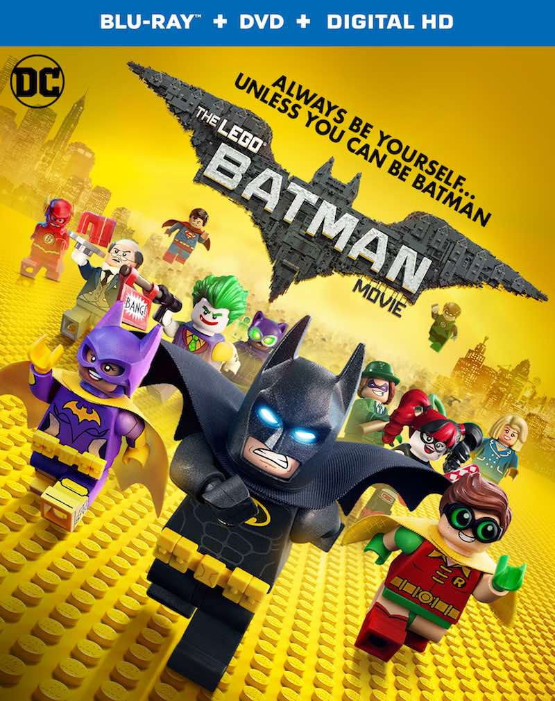 The LEGO Batman Movie Blu-ray DVD