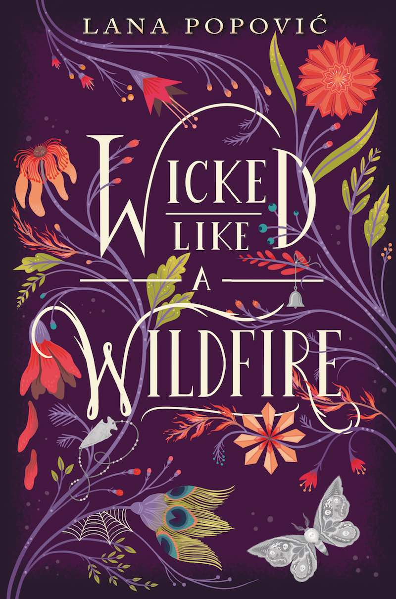 Lana Popovic Wicked Like A Wildfire