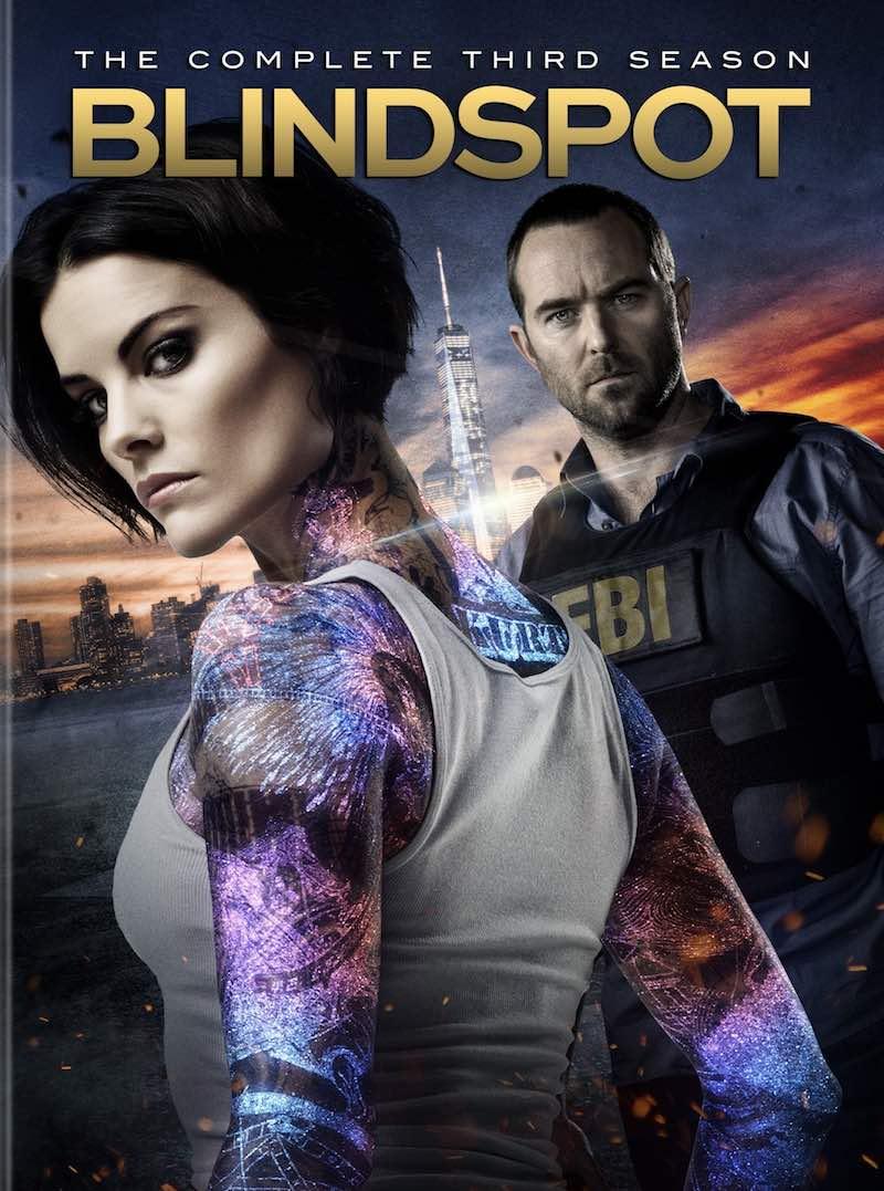 Blindspot The Complete Third Season DVD