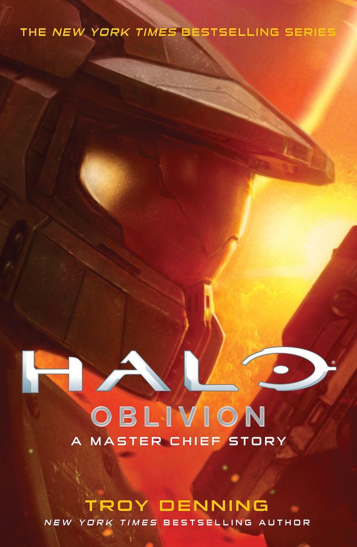 Troy Denning Halo Oblivion Halo Silent Story Halo Last Light Halo Retribution
