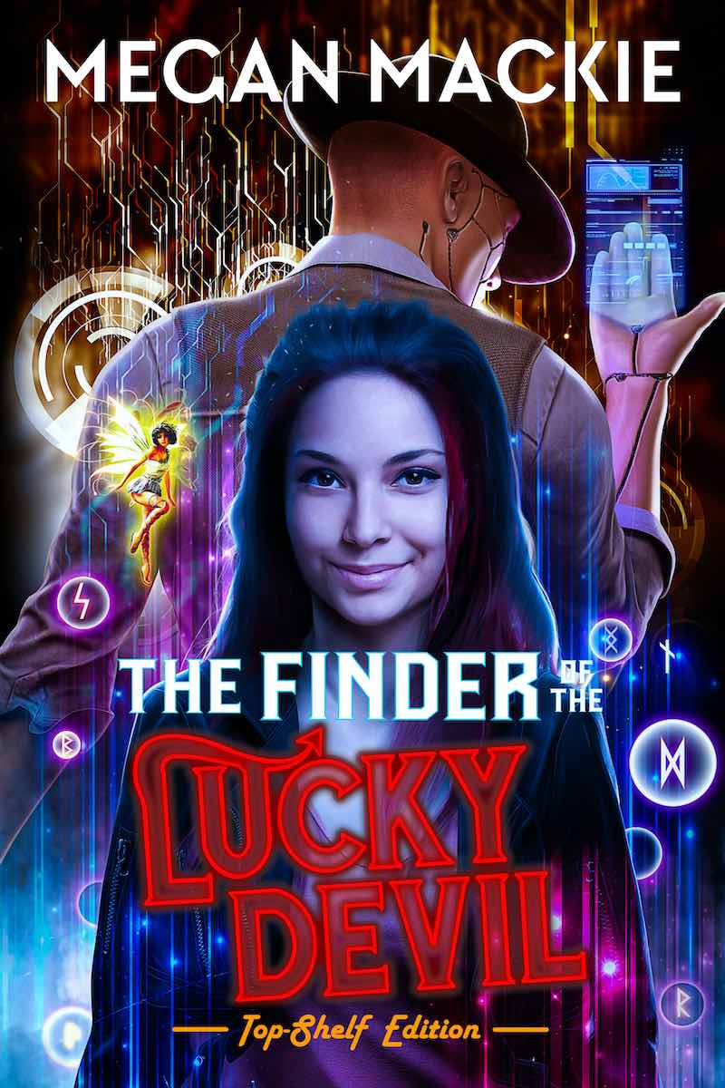 Megan Mackie The Finder Of The Lucky Devil