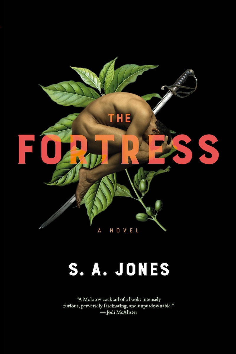 S.A. Jones The Fortress cover