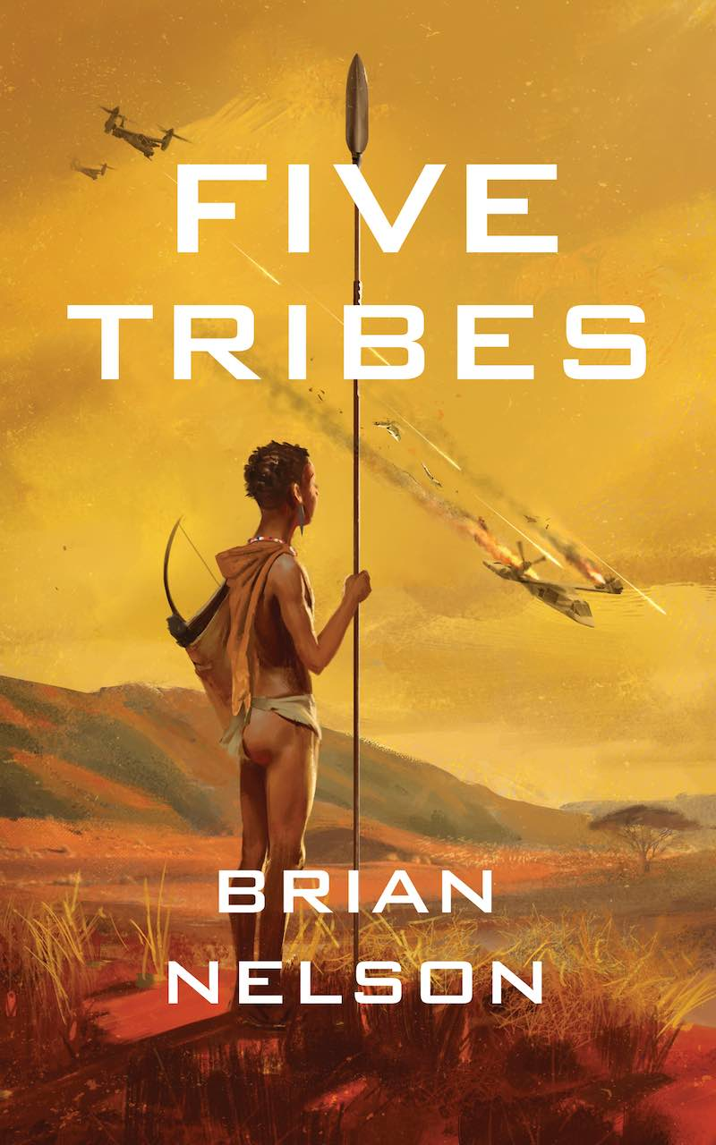 Brian Nelson Five Tribes The Course Of Empire The Last Sword Maker