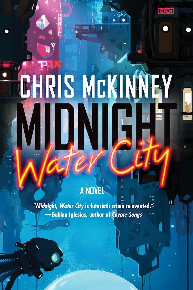 Chris McKinney Midnight Water City