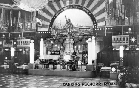 Dancing Pschorr in de jaren dertig