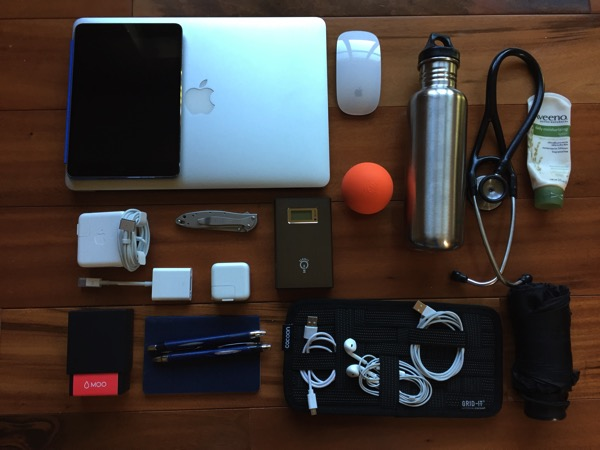 Bag contents oct 2014