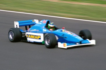 """Gonzalo """"Gonchi"""" Rodríguez. Formula 3000 race, Silverstone July 1999"""