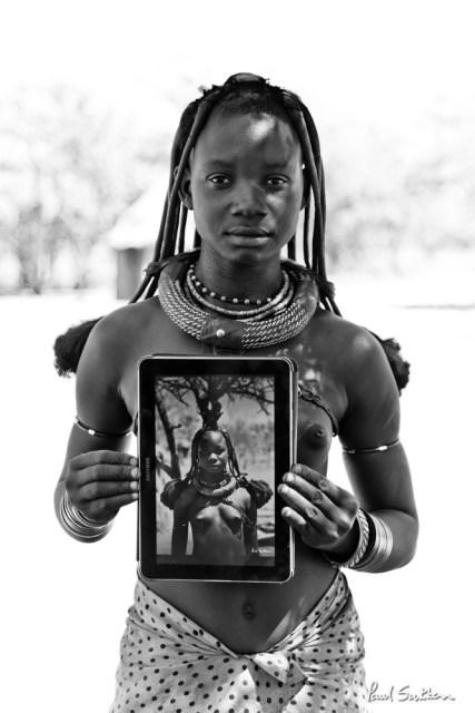 Himba Girl, 6 Months Later - April 2014