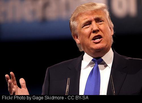 Tub-thumping Trump
